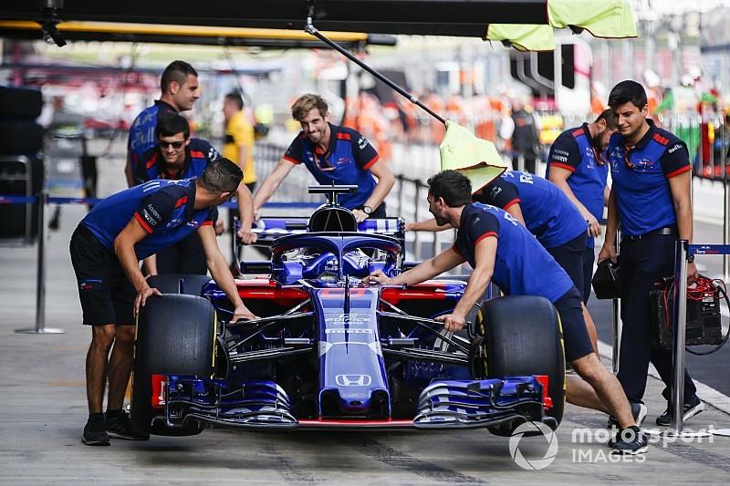 Пілоти Toro Rosso отримають штрафи у Росії через заміну двигунів Honda