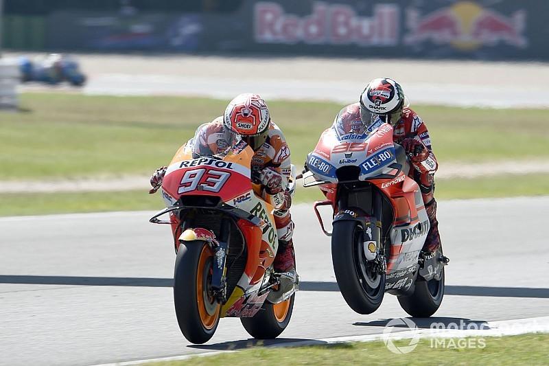 Marquez: Timing of Ducati surge