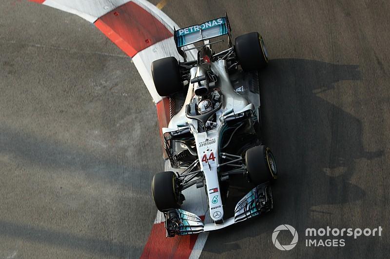 Hamilton pede para Mercedes adiantar melhorias para 2019