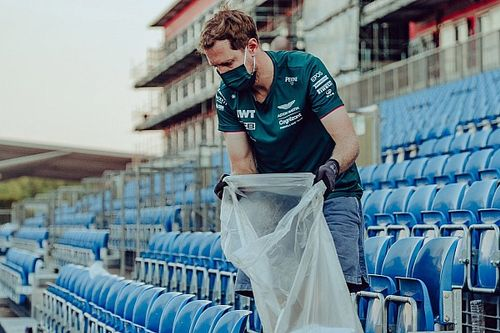 Milieubewuste Vettel: Draait niet om publiciteit, maar geloofwaardigheid