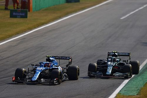 Ocon frustrado por la penalización en Monza