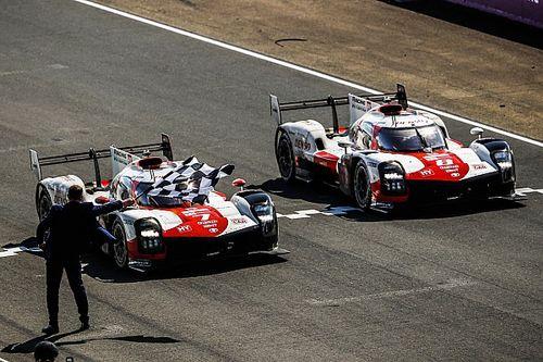 """Le Mans: Conway diz que """"chorou como uma garotinha"""" após a vitória da Toyota"""
