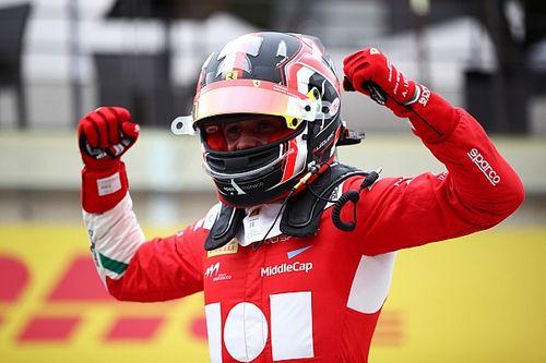 Arthur Leclerc megszerezte első pole-pozícióját az F3-ban a Hungaroringen
