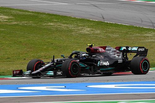 Bottas: ''Leclerc'in arkasında sıkıştım''