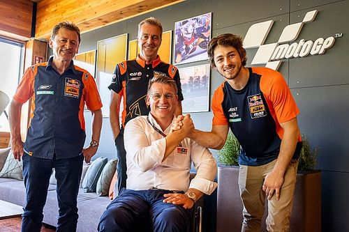 Gardner to step up to MotoGP with Tech 3 KTM in 2022