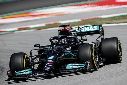 F1スペインGP予選:ハミルトン、通算100ポールポジションの偉業達成。フェルスタッペン及ばず2番手、角田Q1敗退