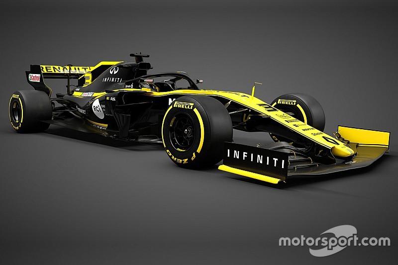 Renault presenta su nuevo auto para la Fórmula 1 2019