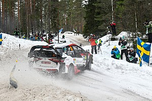 Fotogallery WRC: gli scatti più belli della prima giornata di gara del Rally di Svezia