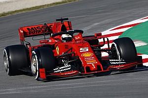 Vettel snelste op ochtend eerste testdag, vijfde tijd Verstappen