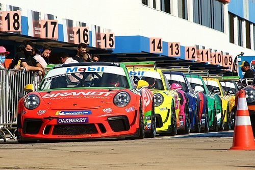 Porsche Cup: Dennis Dirani e Miguel Paludo largam na pole nos 300 km de Goiânia