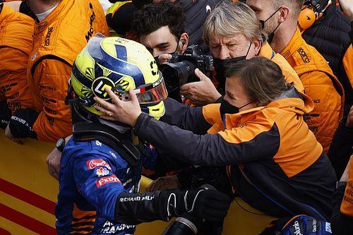 Norris: ''Hamilton bizim için biraz fazla hızlıydı''