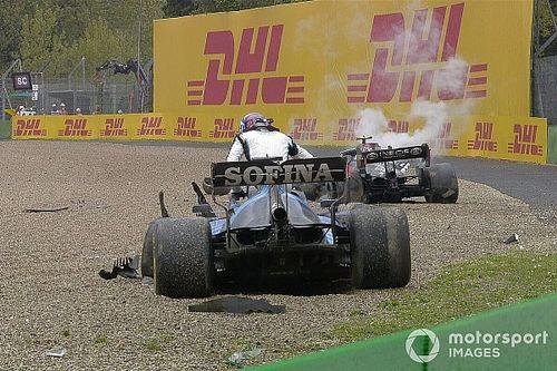 Piros zászló Imolában Bottas és Russell óriási balesete után!