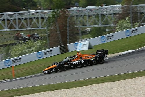 Barber IndyCar: O'Ward sees off Rossi to secure pole position
