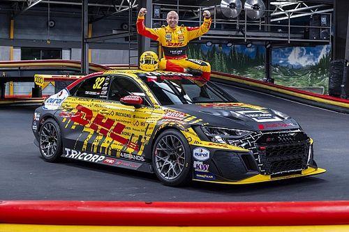 Tom Coronel met 'gecamoufleerde' Audi in FIA WTCR