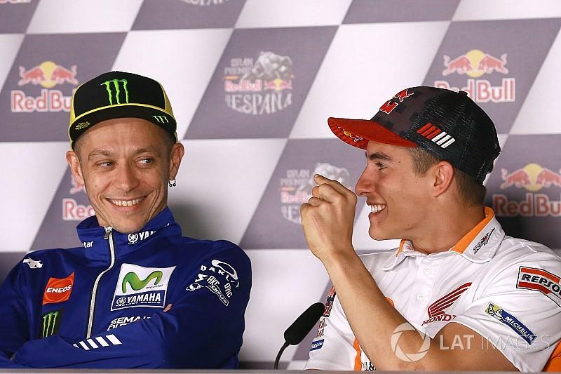 Rossi: Marquez mit bester Schadensbegrenzung in MotoGP 2017