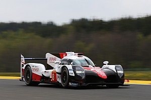 WEC Verslag vrije training WEC Spa: Toyota bezet top-drie in derde training