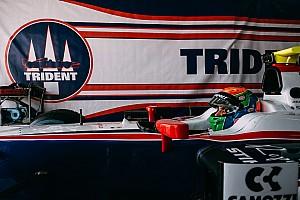 FIA F2 Noticias de última hora Sergio Canamasas correrá con Trident en Bahréin