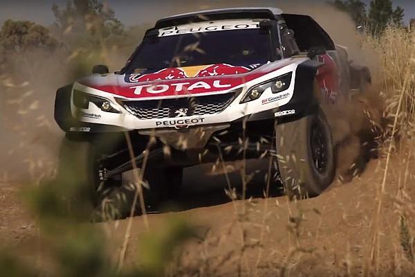Dakar Breaking news Peugeot unveils new 3008DKR Maxi for Dakar 2018