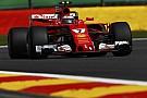 比利时大奖赛FP1:莱科宁最快,马萨撞车