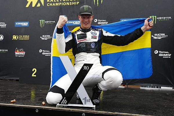 World Rallycross Kristoffersson n'était