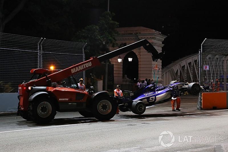 Che occasione sprecata per la Sauber nel GP di Singapore!