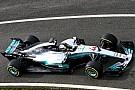 F1 El Mercedes F1 rueda en Silverstone