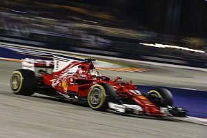 F1 速報ニュース ベッテル、予選は「ラッキーだった」と語る。夜通し作業のクルーに賛辞