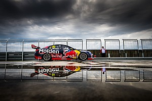 Supercars Qualifying report Symmons Plains Supercars: Whincup wins wet and wild pole