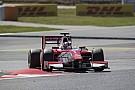 FIA F2 Barcelona F2: Leclerc fends off Ghiotto to win again