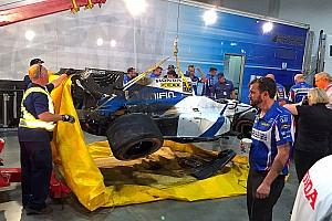 IndyCar Últimas notícias Após acidente no quali, Gutierrez pode não correr em Toronto