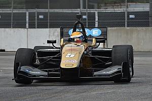 Indy Lights Crónica de Carrera Podio de Urrutia en Toronto