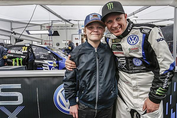 World Rallycross Noticias de última hora El hijo de Solberg se convertirá en el más joven en pilotar un coche rallycross