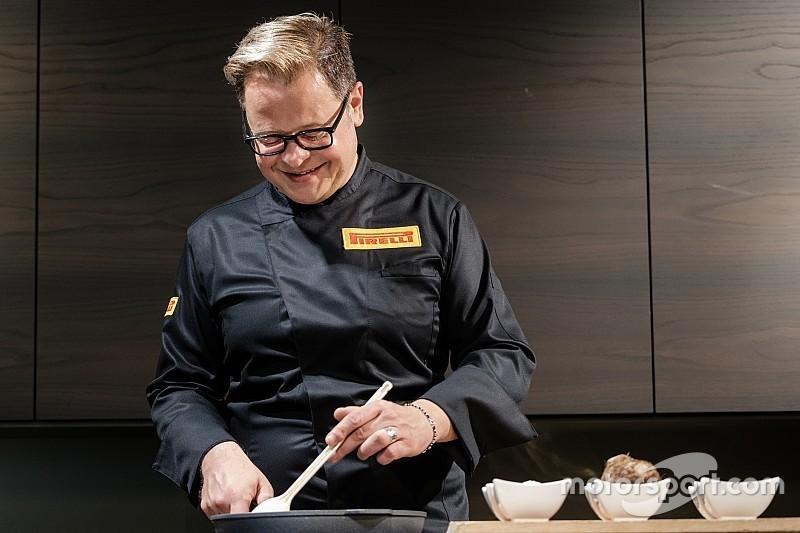 """""""我""""在F1围场的工作:车队主厨!"""