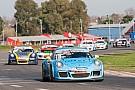 Porsche Victorias de Baptista y Khouri en la Porsche GT3 Cup en Buenos Aires