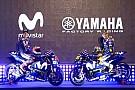 Yamaha presentó los colores de la moto de Rossi y Viñales para 2018
