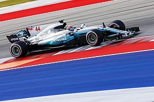 "Hamilton: ""Red Bull ziet er hier in Austin sneller uit dan Ferrari"""