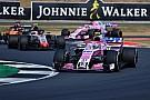 Formule 1 Ocon : Le podium en 2018,