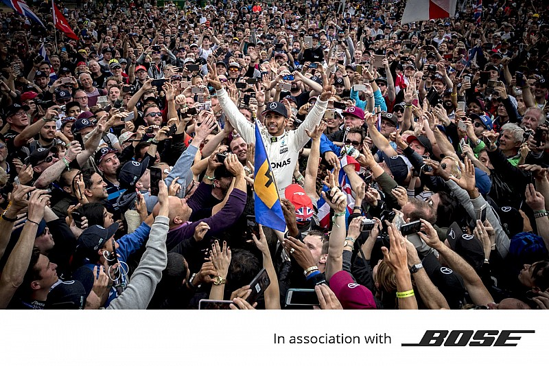 Promoted: How Bose helps Hamilton to keep his focus