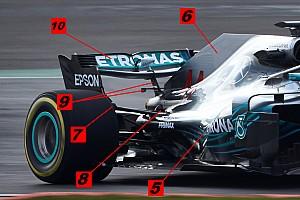 Teknik analiz: Mercedes W09