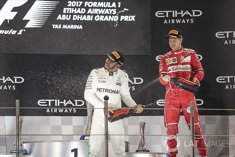 Hamilton espera a un Vettel fortalecido para 2018