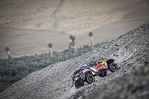 Dakar Szakaszinfó Sainz tetemes előnyt örökölt a Dakaron