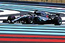 French GP: Hamilton quickest as fiery Ericsson crash ends FP1