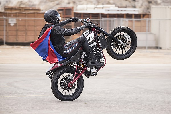 Other bike Special feature Travis Pastrana readying to recreate Evel Knievel jumps