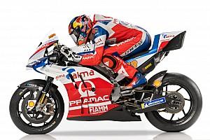 MotoGP Breaking news Pramac unveils livery for 2018 MotoGP season