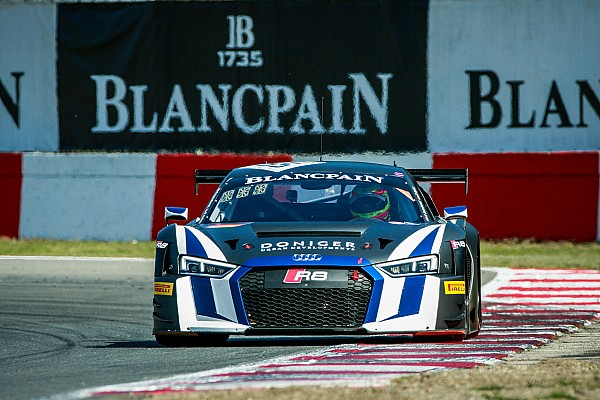 Blancpain Sprint Van der Linde y Schothorst ganan la segunda carrera en Zolder
