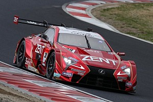 Super GT Qualifying report Fuji Super GT: Lexus locks out front row as Honda struggles