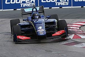Indy Lights Репортаж з практики Серралес виграв практику Indy Lights у Торонто