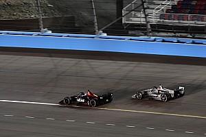 IndyCar Noticias Newgarden rebasó a Wickens sin saber si lo lograría