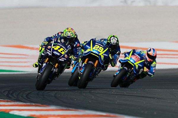 Rossi and Vinales used 2016 chassis for Valencia finale