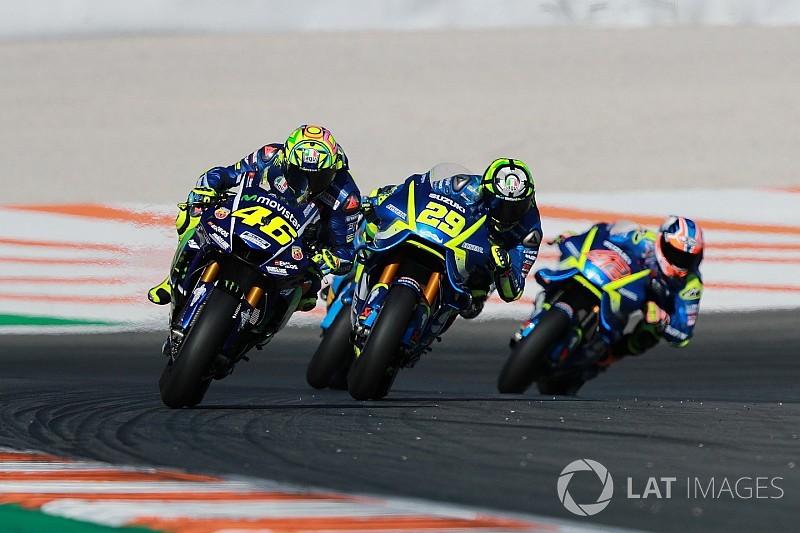 Rossi e Viñales admitem ter usado chassi 2016 em Valência